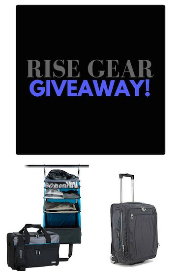Rise Gear Luggage Review and Blog Giveaway!