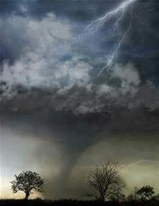Lightning Storm& Tornado!