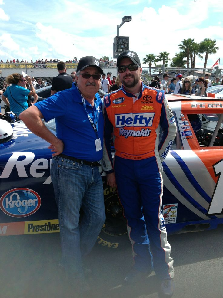 Eric McClure with Dad