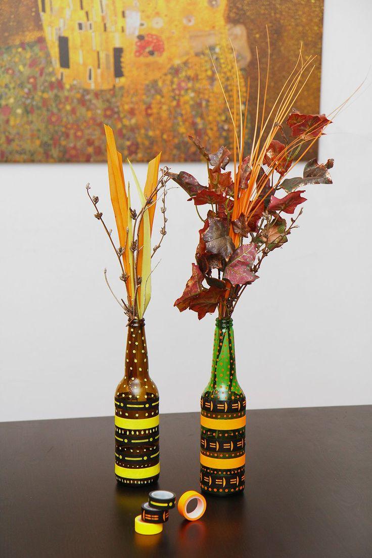 Jak proměnit lahve od vína a piva v krásné vázy a svícny? Podívejte se! - Hobby