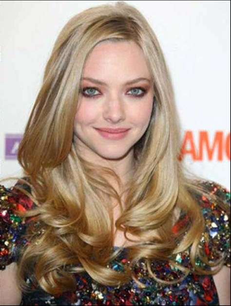 Long Blonde Hair for Round Face 2018 - Styles Art