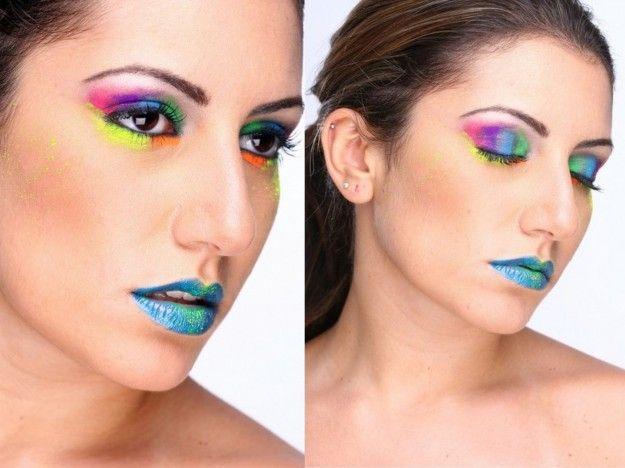 Colori fluo per un make up originale