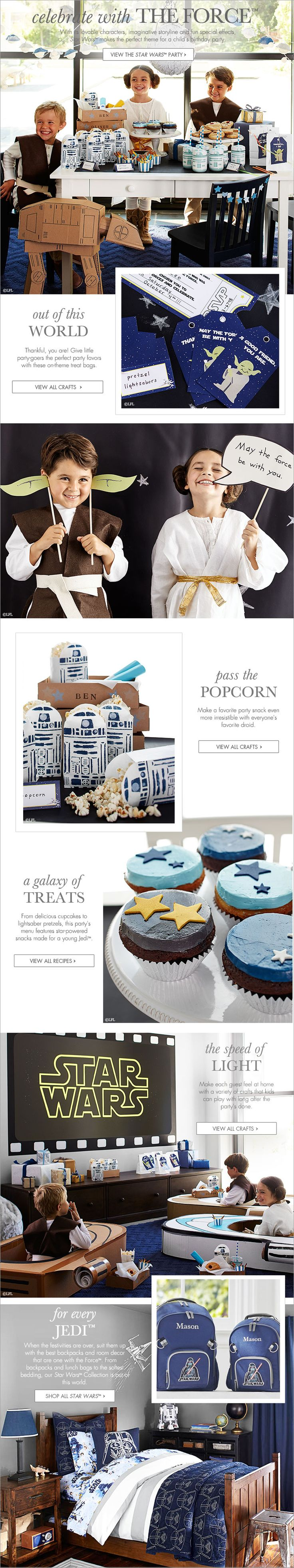 Celebrate with The Force™ | Pottery Barn Kids