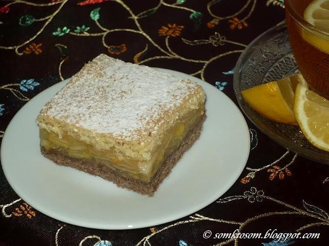 RECEPTY Z MOJEJ KUCHYNE: Jablkový koláč - dvojfarebný