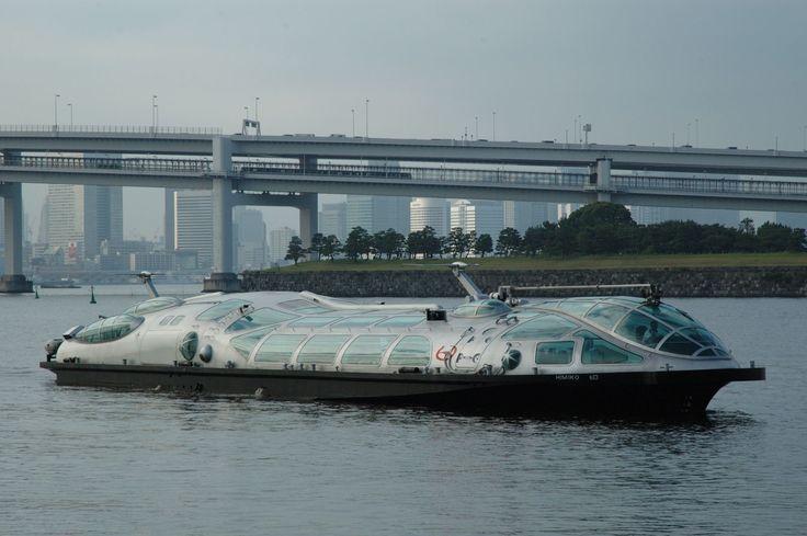 #東京 #お台場 #東京湾 #船 #水上バス #卑弥呼 #レインボーブリッジ