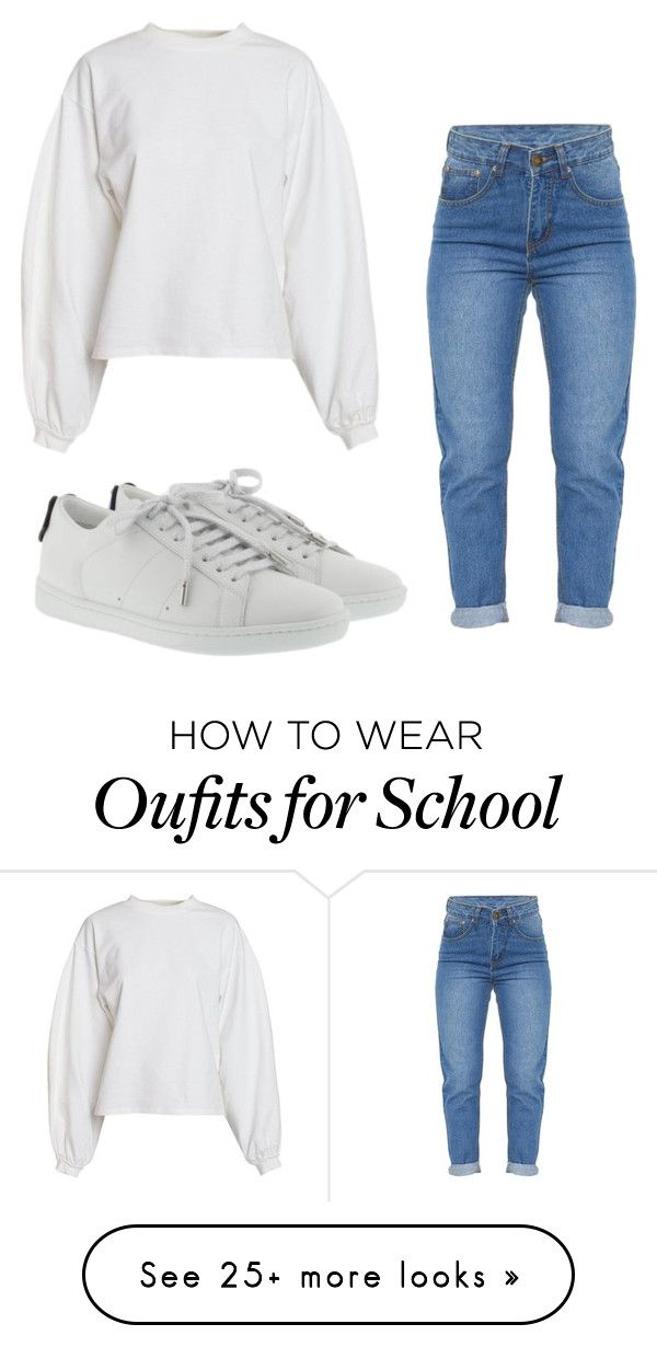 """""""Old school vibes """" by lakesheia on Polyvore featuring NLY Trend and Yves Saint Laurent"""