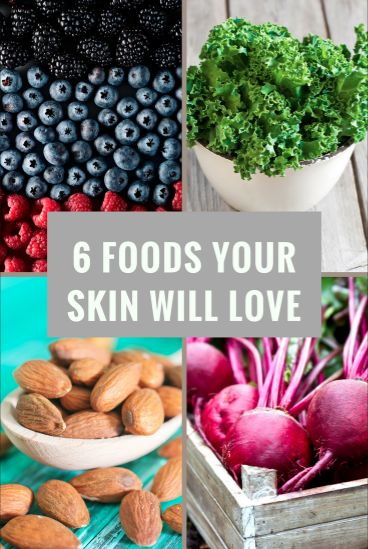 Fill your plate with nutrient-rich foods for younger-looking, glowing skin.