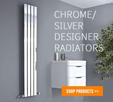 Chrome Designer Radiators from BestHeating.com