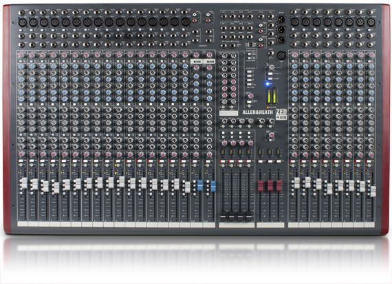 Allen & Heath ZED-428 Mixing Console. Top of the line in the ZED series. Incredible mixing capabilities.