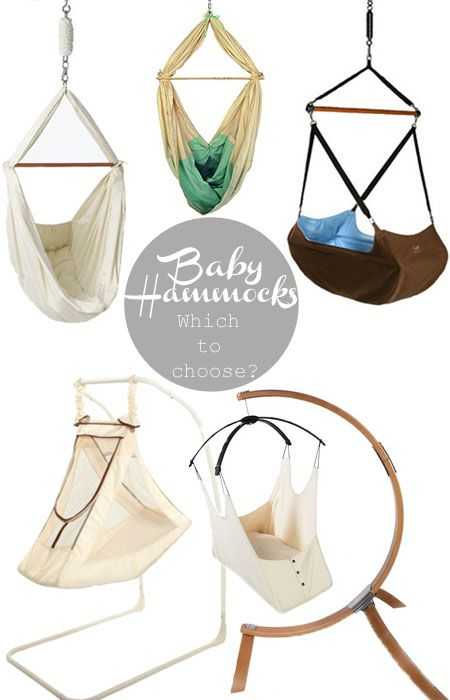 For an alternative sleeping option for babies- the baby hammock.  Natural swaying motions and womb-like environment for infants.  Unique, pretty, and effective!
