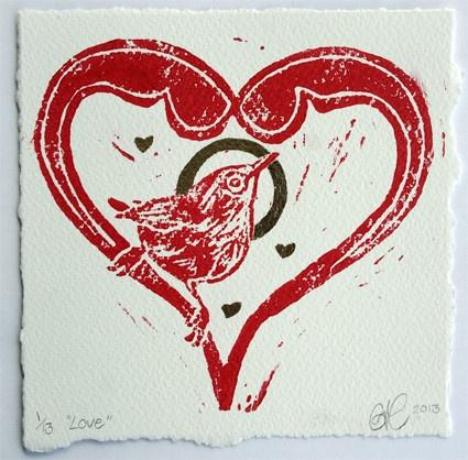 PRINT 'Love - 2013', £13.00