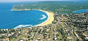 Copacabana Beach, Central Coast NSW Australia