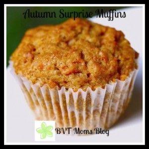 Autumn Surprise Muffins: A Parent/Child Recipe   Burlington VT Moms Blog {www.CityMomsBlog.com}