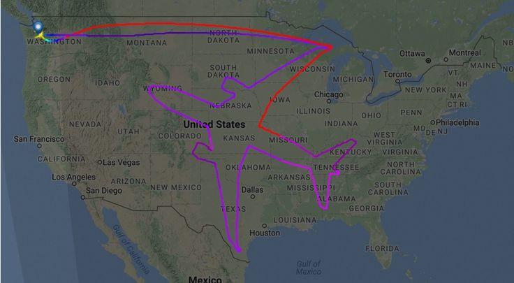 """To nieprawda, że inżynierowie są potwornymi nudziarzami. Często wpadają na genialne pomysły tylko dla frajdy, tak jak ten dzięki któremu """"narysowali"""" Dreamlinera na niebie. http://exumag.com/samoloty/"""