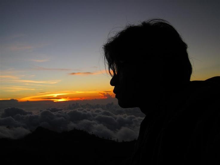 Thinking of my life: Mount Rinjani, Indonesia...