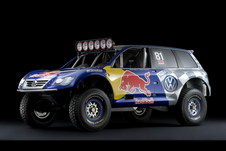 VW Touareg Dakar Rally Version