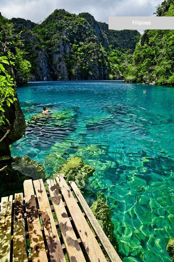 Kayangan Lake, Coron Islands of Palawan, Philippines
