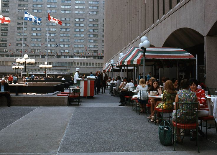 Montreal in the 60s - Place Ville Marie