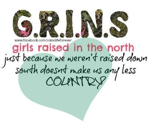 Technically I was raised in the North (Canada) but I'm from the Southern part (Ontario) soooo...I'm both?