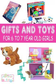 Best Gifts For 6 Year Old Girls. Lots of Ideas for 6th Birthday, Christmas and 6 to 7 Year Olds