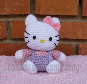 Esta Hello Kitty ha sido un regalo de Jose Luis para su chica. Qué bonita es!!!!