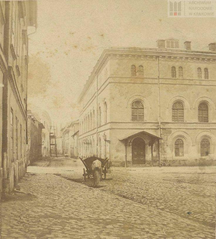 Stare zdjęcie Starego Teatru, ok. 1870 r.