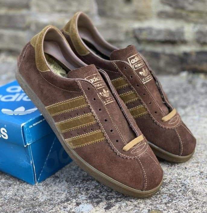 792edbc954375 Vintage Canadian made Tobacco | Adidas trainers in 2019 | Adidas ...