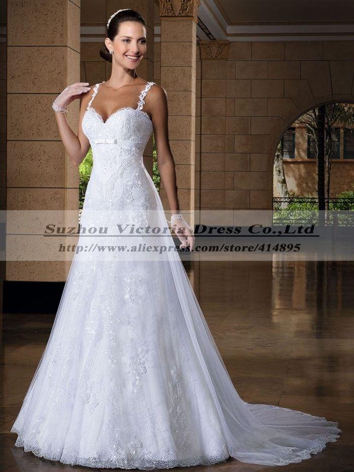 Vestido де Noiva 2015 Vestido де Casamento кружева винтаж свадебное платье одеяние мантия-де-mariage длинные кружева платье Большой размер свадебное платье