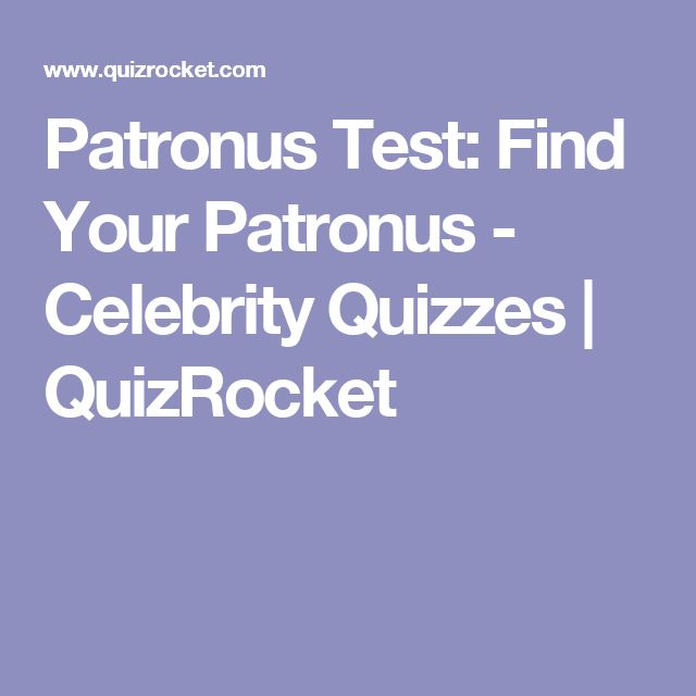 Patronus Test: Find Your Patronus - Celebrity Quizzes | QuizRocket
