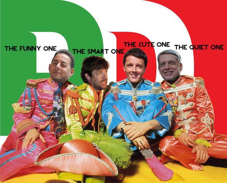 2013 Partito Democratico (Democratic Party) primaries candidates mockery