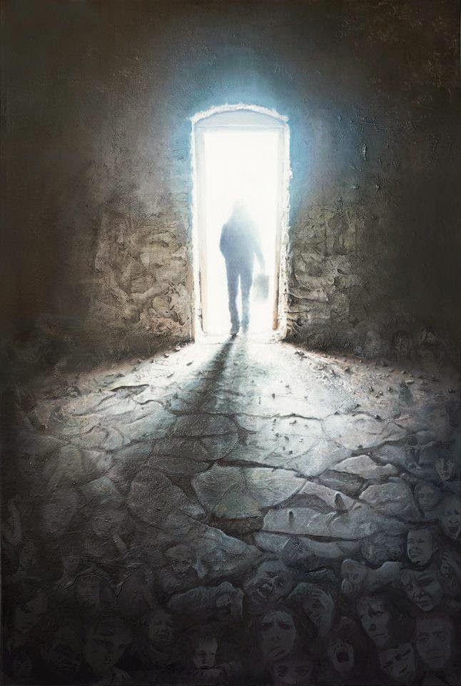 Έχω ανάγκη από φως (2013) Λάδι σε καμβά