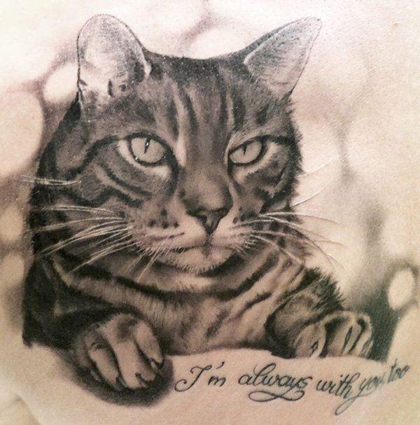 50 Awesome Animal Tattoo Designs Cuded Animal Tattoo Cat Tattoo Animal Tattoos