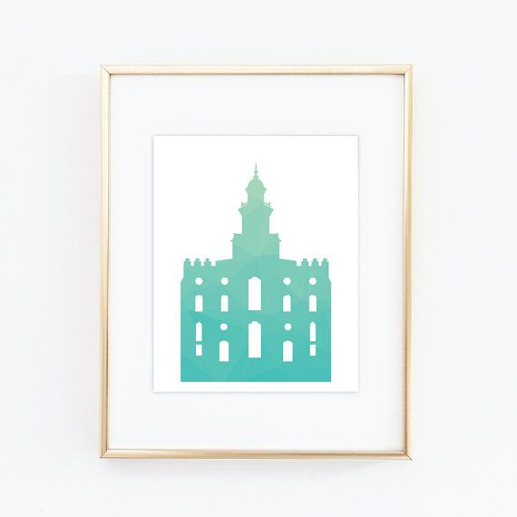 St. George Temple LDS Temples House of the Lord by QuotableStuff