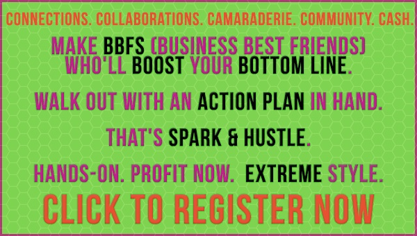 """If you are a mompreneur, Psi Bands highly recommends attending Spark & Hustle in a city near you (click to check the tour schedule), led by Tory Johnson of """"Good Morning America"""". When you register please mention Romy Taormina from Psi Bands. Pick a city and register. You will not regret it. Thanks!"""