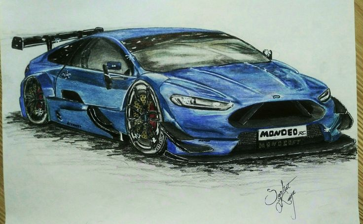 FORD MONDEO SUPER RC TOURİNG CAR 2015 design & drawings : (Serhat Kaya).