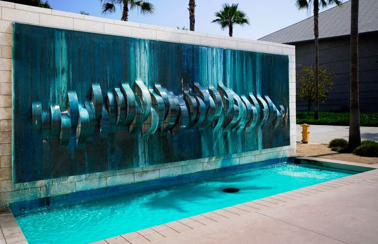 It Will Be A Great Options For Outdoor Water Wall Design