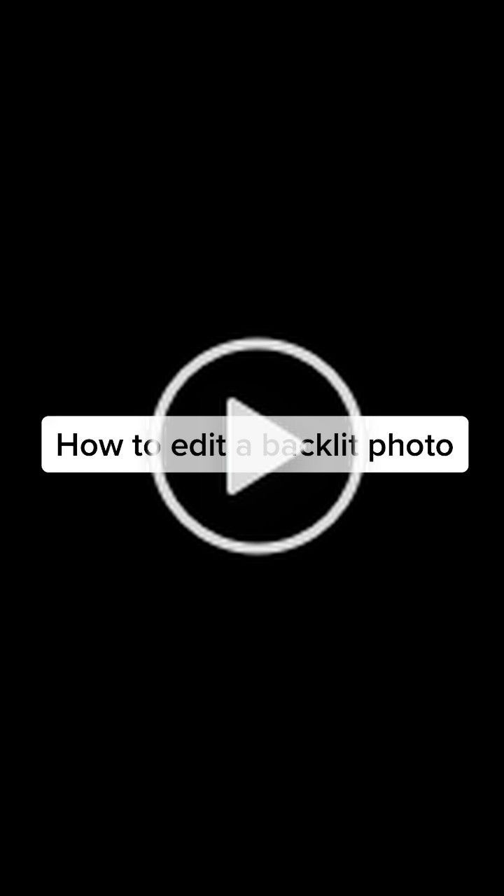Christian Yi Christianyi25 On Tiktok This Is How To Edit A Backlit Photo Aka Silhouette Shot Photohacks Photoediting Editi Photo Photo Editing Christian