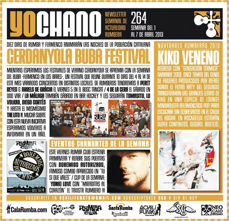 SANT GAUDENCI Rumba Catalana: YOCHANO nº264