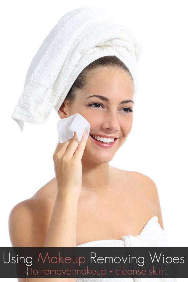 Using Makeup Wipes to Remove Makeup