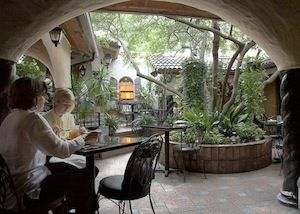 i like this archway for the indoor outdoor access 10 Dallas Restaurants for the Health-Obsessed