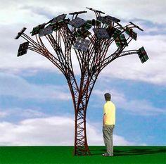 Cidade inglesa vai plantar «árvore solar» :: Energia Solar Térmica TISST