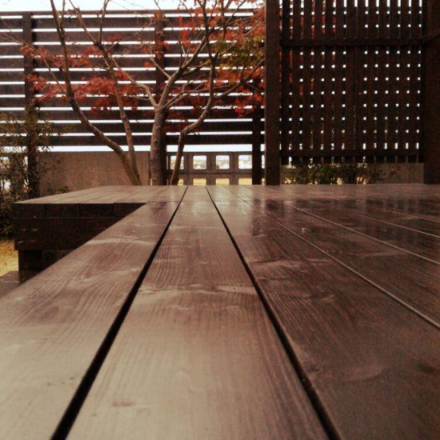 HopChikuwaさんの、2x4,庭,もみじ,ウッドフェンス,ウッドデッキ,DIY,玄関/入り口,のお部屋写真