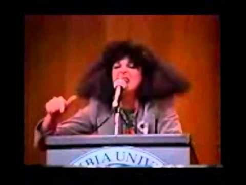 Gilda Radner as Roseanne Roseannadanna. She was married to Gene Wilder (aka Willy Wonka). She died 5/20/89, at 42 of ovarian cancer.