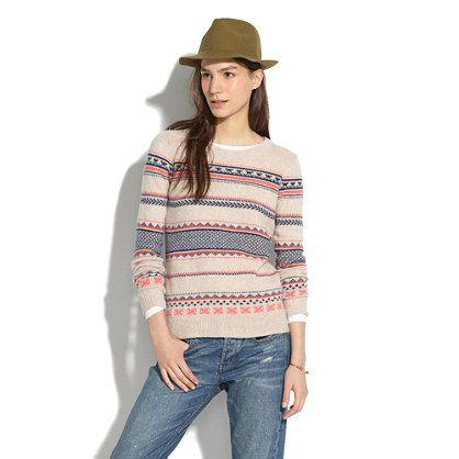 Fair Isle Striped Sweater - the shirt + sweater sale - Men's Madewell_Feature_Assortment - J.Crew