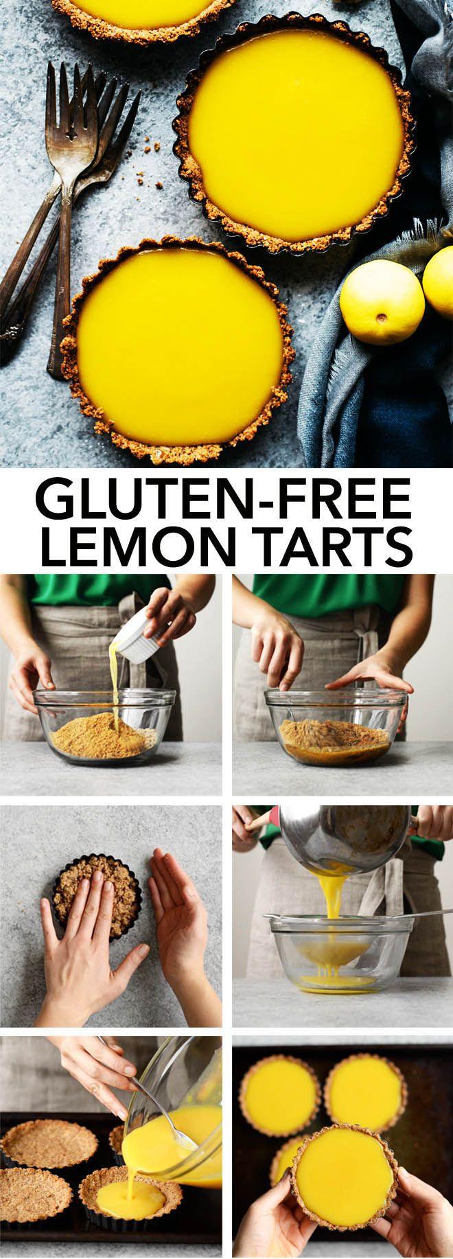 how to make mini lemon tarts