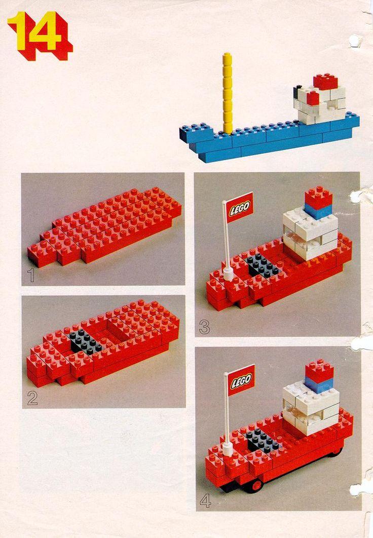 Constructie: Lego Boot!