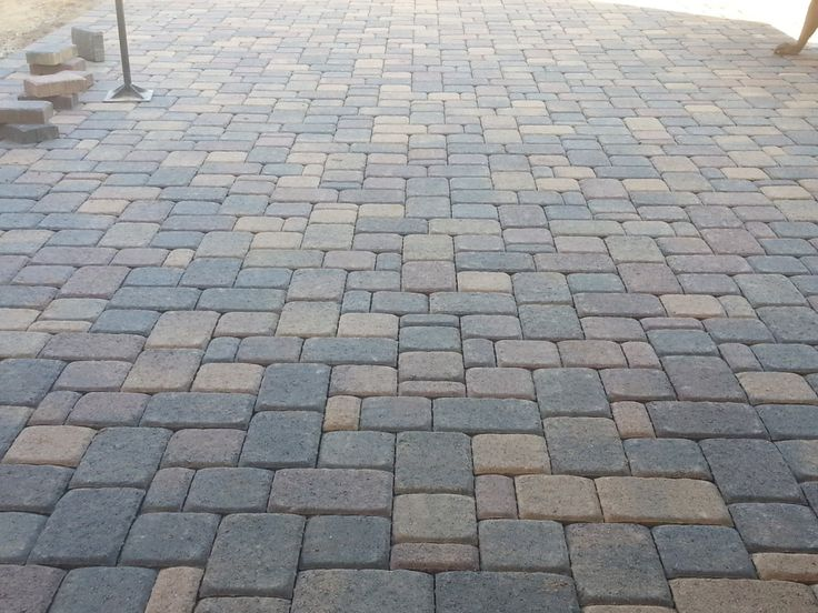 Belgard cambridge cobble 3 piece pavers color is bella in for Belgard urbana pavers