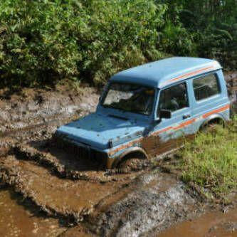 Mud bath....my SJ410 4x4