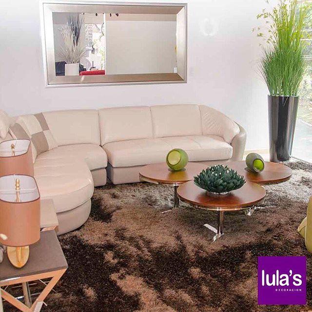 La sala es el lugar ideal para recibir a tus amigos. Visítanos en #LulasDecoración y descubre una gran variedad. Estamos en Patio Bonito en la transversal 6 # 45 – 79, dos cuadras arriba del Éxito de El Poblado.  #interiordesign #home #style #decor #decoración #espacios #ambientes #decohogar #hogar #diseño #homesweethome #cozy #habitaciones #muebles #mobiliario #decoracioninteriores #comedor #sillas