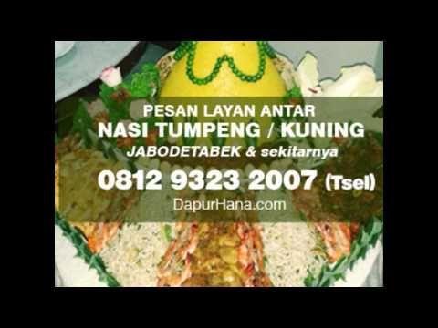 081293232007 (Tsel)   Jual Tumpeng Nasi Kuning di Bekasi - YouTube
